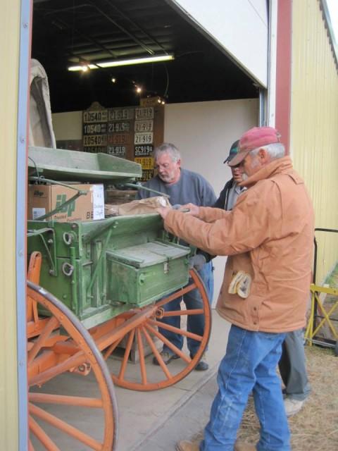 moving wagon