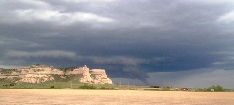 ominous cloud scotts bluff