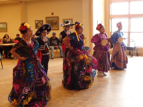 Los Guadalupanos Heritage Dancers!